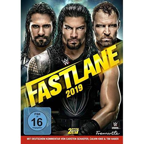 - Wwe-Fastlane 2019 [2 DVDs] - Preis vom 09.06.2021 04:47:15 h