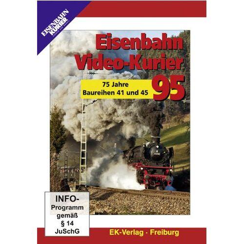 - Eisenbahn Video-Kurier 95 - 75 Jahre Baureihen 41 und 45 - Preis vom 19.06.2021 04:48:54 h