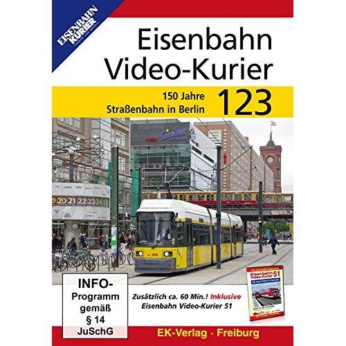 - Eisenbahn Video-Kurier 123: 150 Jahre Straßenbahn in Berlin - Preis vom 06.09.2021 04:53:38 h