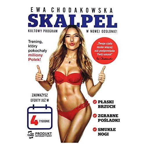 Ewa Chodakowska - Ewa Chodakowska: Skalpel [DVD] (Keine deutsche Version) - Preis vom 14.06.2021 04:47:09 h