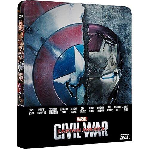 - Captain America: Civil War 3D Steelbook, Zavvi Exklusiv, OOP, Zavvi Exclusive Limited Edition Steelbook (Blu-ray 3D + Blu-ray) (Blu-ray 2D mit deutschem Ton, Blu-ray 3d ohne deutschen Ton - Preis vom 15.06.2021 04:47:52 h
