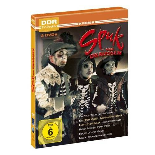 Günter Meyer - Spuk von Draussen - DDR TV-Archiv ( 2 DVDs ) - Preis vom 10.09.2021 04:52:31 h