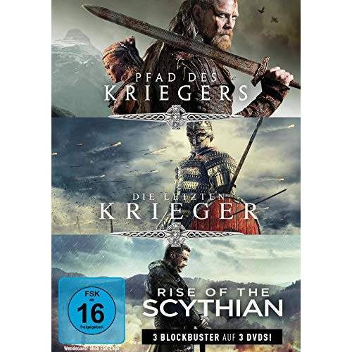 Roel Reine - Krieger-Box: Pfad des Kriegers, Die letzten Krieger & Rise of the Scythian (3 DVDs) - Preis vom 13.06.2021 04:45:58 h