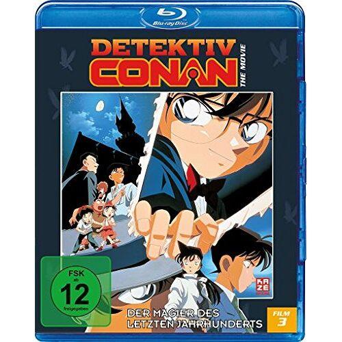 Kanetsugu Kodama - Detektiv Conan - 3. Film: Der Magier des letzten Jahrhunderts [Blu-ray] - Preis vom 19.06.2021 04:48:54 h