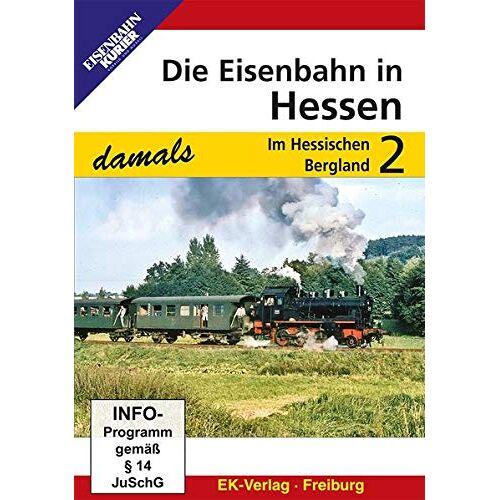 - Die Eisenbahn in Hessen 2 - Im Hessischen Bergland - Preis vom 25.07.2021 04:48:18 h