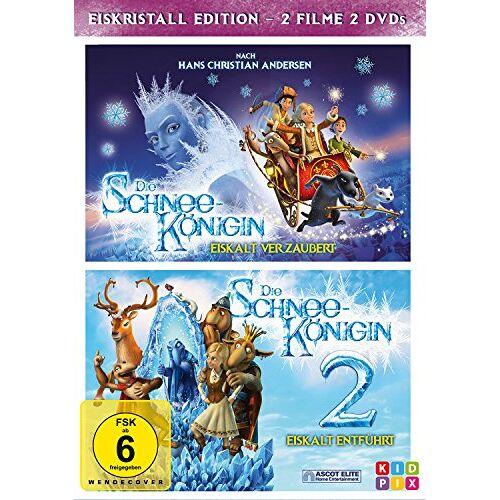 Vladlen Barbe - Die Schneekönigin 1+2 - Box [2 DVDs] - Preis vom 12.06.2021 04:48:00 h