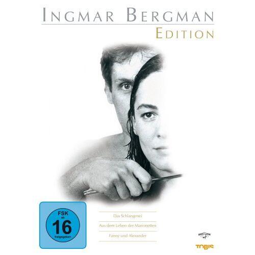 Ingmar Bergman - Ingmar Bergman Edition [5 DVDs] - Preis vom 20.06.2021 04:47:58 h