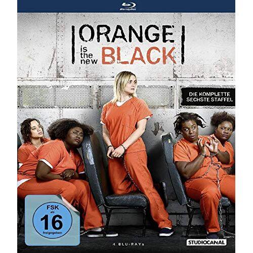 Taylor Schilling - Orange Is the New Black / 6. Staffel [Blu-ray] - Preis vom 22.06.2021 04:48:15 h