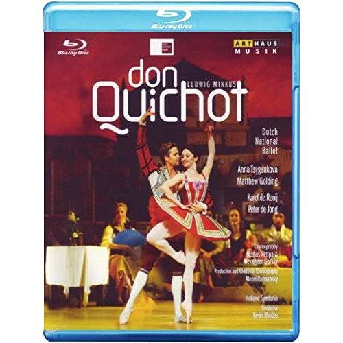 Jeff Tudor - Minkus - Don Quichot [Blu-ray] - Preis vom 17.06.2021 04:48:08 h