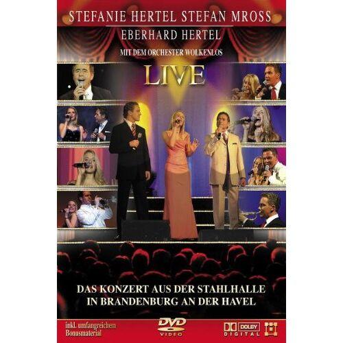 Stefanie Hertel - Stefanie Hertel / Stefan Mross / Eberhard Hertel - Live - Preis vom 21.06.2021 04:48:19 h