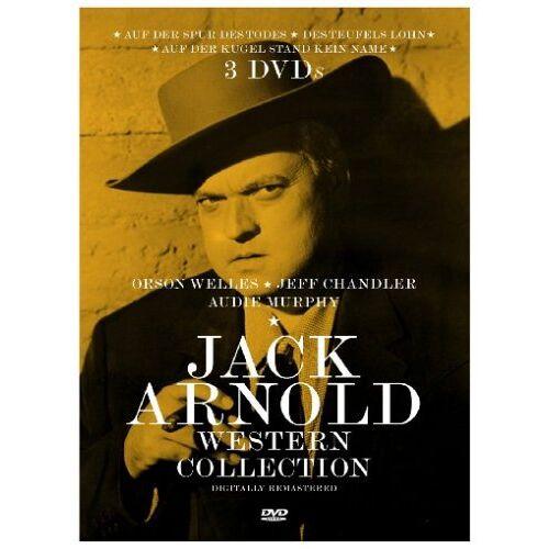 Jack Arnold - Jack Arnold Western Collection [3 DVDs] - Preis vom 09.06.2021 04:47:15 h