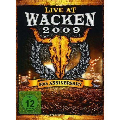 Saxon - Wacken 2009 - Live At Wacken Open Air [3 DVDs] - Preis vom 17.05.2021 04:44:08 h