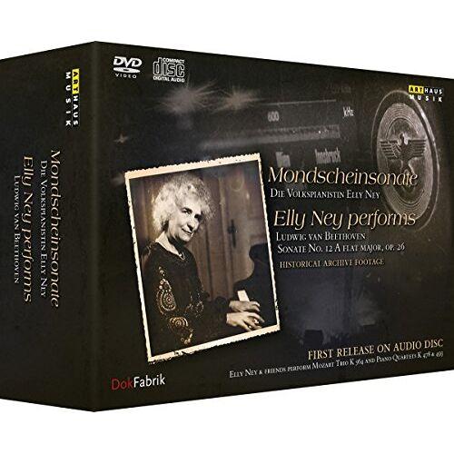 Alfred Braun - Mondscheinsonate - Die Volkspianistin Elly Ney [DVD, 2 CDs + Buch] - Preis vom 21.06.2021 04:48:19 h