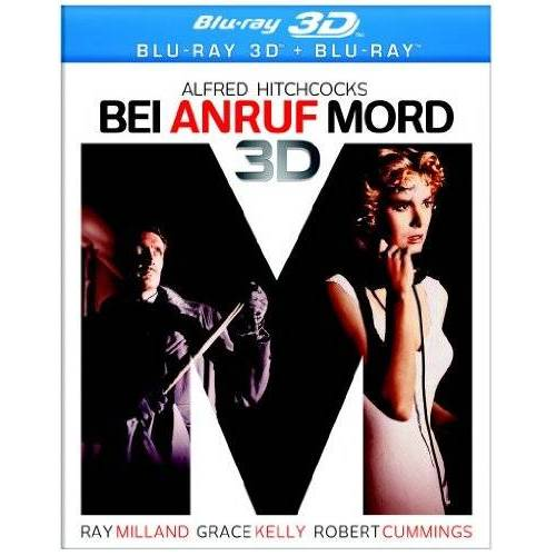 Alfred Hitchcock - Alfred Hitchcocks Bei Anruf Mord [Blu-ray 3D] - Preis vom 20.09.2021 04:52:36 h