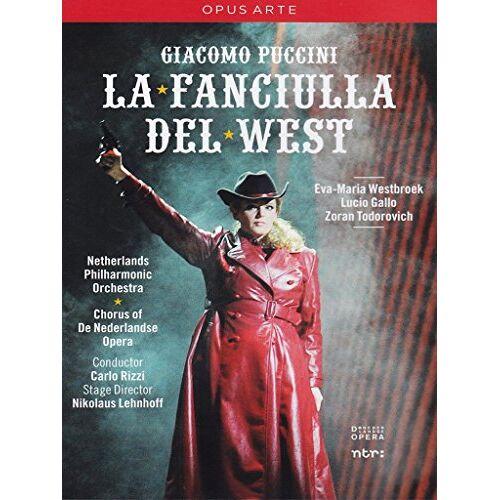 Nikolaus Lehnhoff - Giacomo Puccini - La Fanciulla del West [DVD] - Preis vom 21.06.2021 04:48:19 h