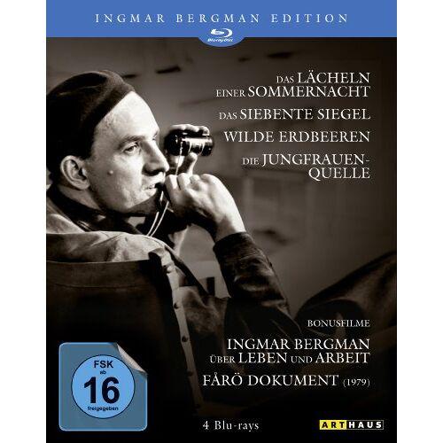 Ingmar Bergman - Ingmar Bergman Edition [Blu-ray] - Preis vom 11.10.2021 04:51:43 h