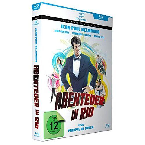 Jean-Paul Belmondo - Abenteuer in Rio - mit Jean-Paul Belmondo (Filmjuwelen) [Blu-ray] - Preis vom 21.06.2021 04:48:19 h