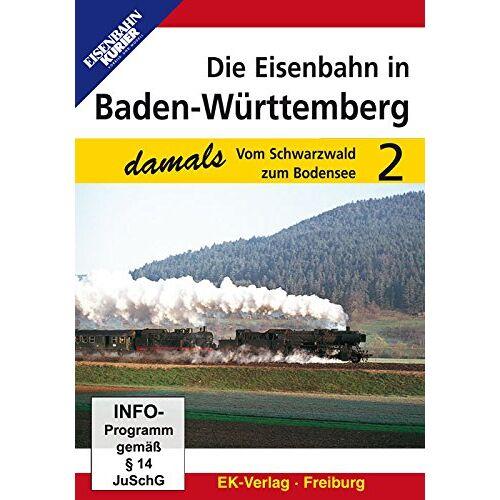 - Die Eisenbahn in Baden-Württemberg 2 - Vom Schwarzwald zum Bodensee - Preis vom 02.08.2021 04:48:42 h