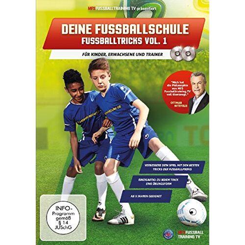 - Deine Fussballschule - für Kinder, Erwachsene und Trainer - Fussballtricks Vol. 1 - Preis vom 02.08.2021 04:48:42 h