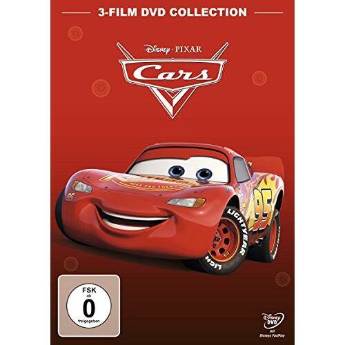 John Lasseter - Cars 1 + Cars 2 + Cars 3 [3 DVDs] - Preis vom 19.06.2021 04:48:54 h