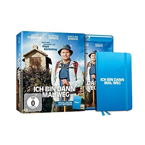 - Ich bin dann mal weg - Special Edition inkl. LEUCHTTURM1917 Notizbuch (exklusiv bei Amazon.de) [Blu-ray] [Limited Edition] - Preis vom 11.06.2021 04:46:58 h