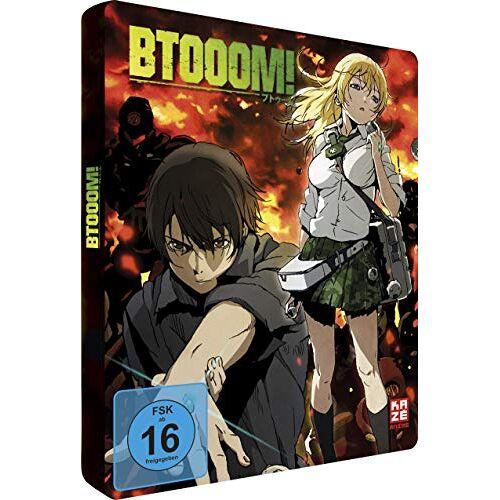 - BTOOOM! - Gesamtausgabe - Steelcase [Blu-ray] - Preis vom 09.06.2021 04:47:15 h