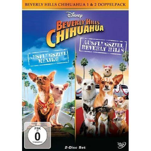- Beverly Hills Chihuahua 1+2 [2 DVDs] - Preis vom 15.09.2021 04:53:31 h