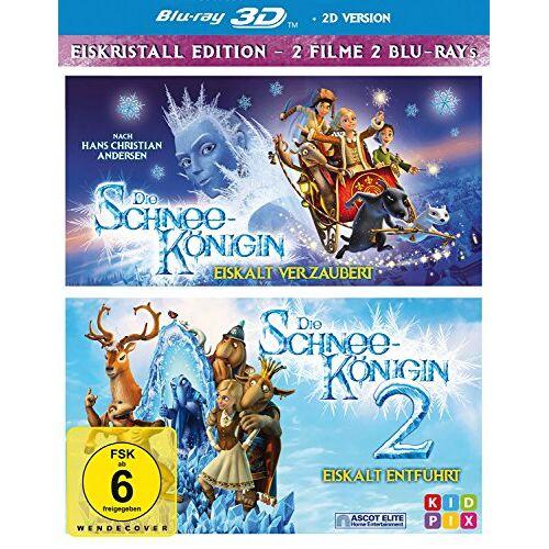 Vladlen Barbe - Die Schneekönigin 3D 1+2 - Box [2 Blu-rays 3D] - Preis vom 12.06.2021 04:48:00 h