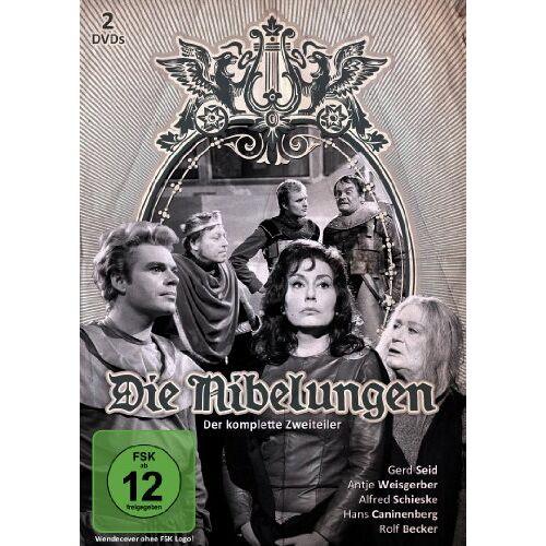 Wilhelm Semmelroth - Die Nibelungen [2 DVDs] - Preis vom 22.06.2021 04:48:15 h