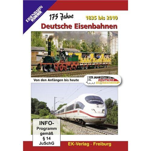 - 175 Jahre Deutsche Eisenbahnen 1835 bis 2010 - Preis vom 19.06.2021 04:48:54 h