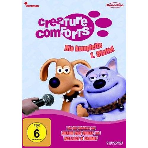 Richard Goleszowski - Creature Comforts - Die komplette 1. Staffel - Preis vom 18.10.2021 04:54:15 h