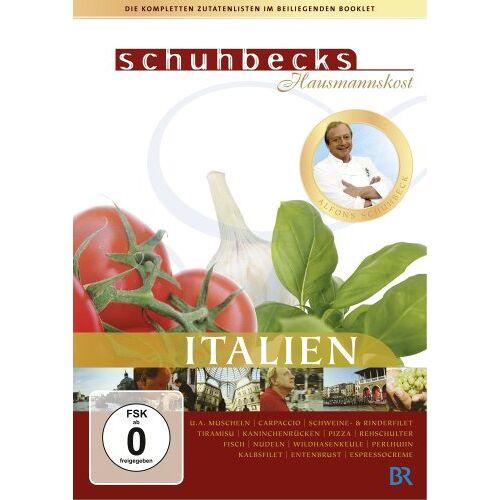Alfons Schuhbeck - Schuhbecks Hausmannskost - Italien (3 DVDs) - Preis vom 23.07.2021 04:48:01 h