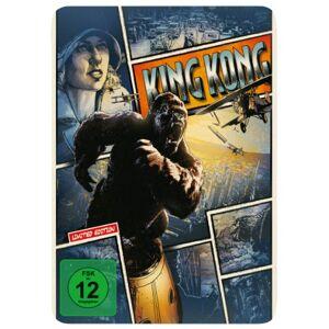 Peter Jackson - King Kong - Reel Heroes Edition - Steelbook [Blu-ray] - Preis vom 14.08.2020 04:48:26 h
