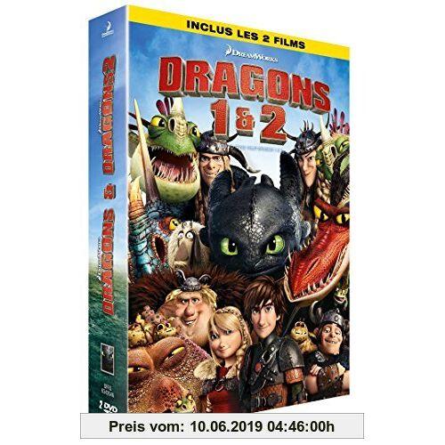 Chris Sanders Coffret dragons : dragons ; dragons 2 [FR Import]