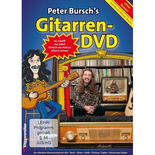 - Peter Bursch's Gitarren-DVD - Preis vom 12.10.2019 05:03:21 h