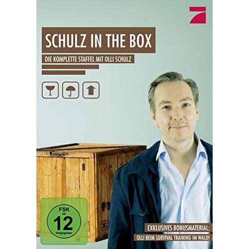 Olli Schulz - Schulz in the Box - Die komplette Staffel mit Olli Schulz [2 DVDs] - Preis vom 28.02.2021 06:03:40 h