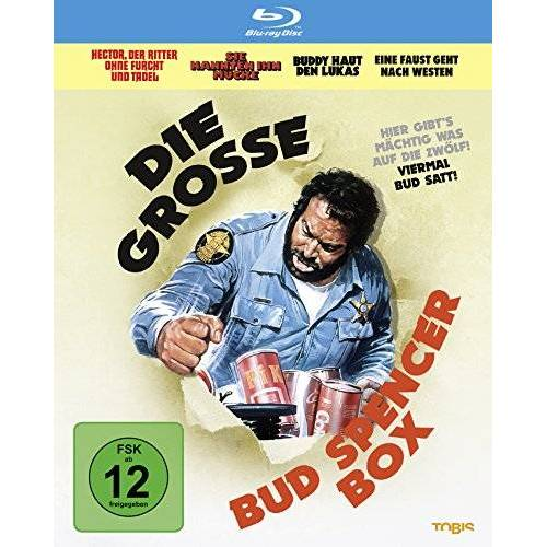Bud Spencer - Die grosse Bud Spencer-Box [Blu-ray] - Preis vom 24.02.2021 06:00:20 h