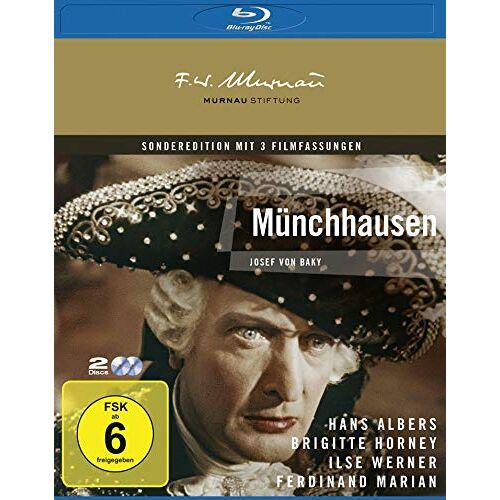 Josef von Báky - Münchhausen [Blu-ray] - Preis vom 20.10.2020 04:55:35 h