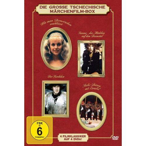 - Die große tschechische Märchenfilm-Box [4 DVDs] - Preis vom 14.05.2021 04:51:20 h