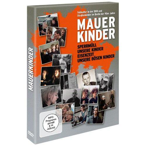 Helke Misselwitz - Mauerkinder (4 Filme auf 2 DVDs: Sperrmüll - Eisenzeit - Unsere Kinder - Unsere bösen Kinder ) [2 DVDs] - Preis vom 18.10.2020 04:52:00 h