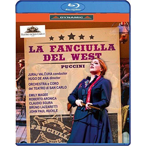 - La Fanciulla del West [Blu-ray] - Preis vom 25.02.2021 06:08:03 h
