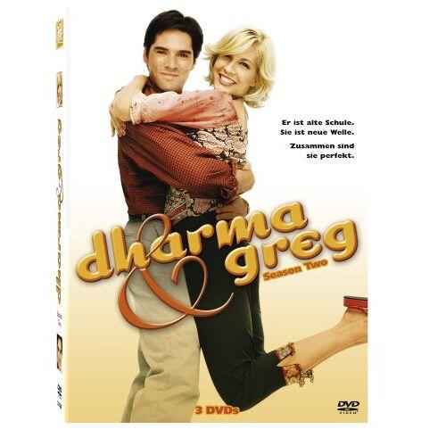 Gail Mancuso - Dharma & Greg - Season 2 [3 DVDs] - Preis vom 16.04.2021 04:54:32 h