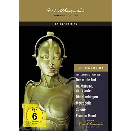 Fritz Lang - Die Fritz Lang Box [9 DVDs] - Preis vom 22.02.2020 06:00:29 h