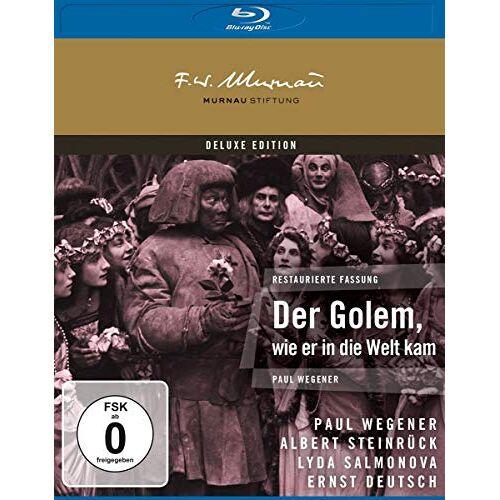 Paul Wegener - Der Golem, wie er in die Welt kam [Blu-ray] - Preis vom 19.10.2020 04:51:53 h