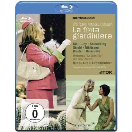 Felix Breisach - Mozart - La Finta Giardinera [Blu-ray] - Preis vom 11.05.2021 04:49:30 h