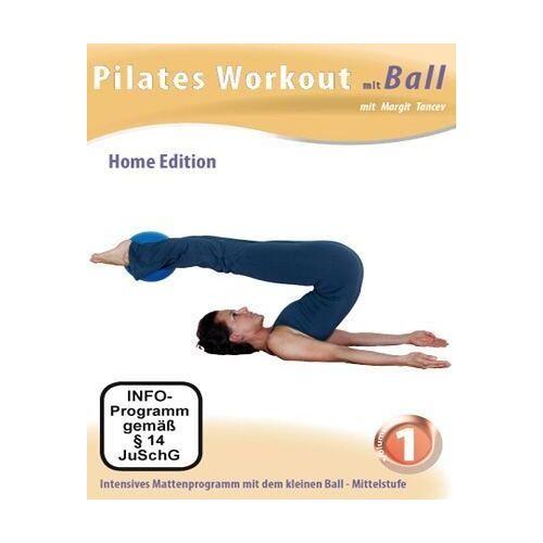 Margit Tancev - Pilates Workout mit Ball Vol. 1 - Preis vom 15.10.2019 05:09:39 h