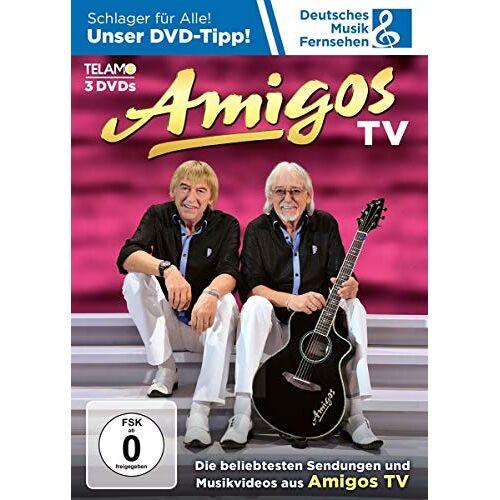 Amigos - Amigos TV [3 DVDs] - Preis vom 16.01.2021 06:04:45 h