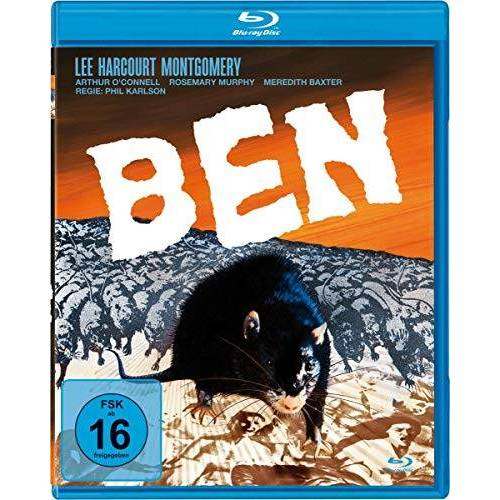 Phil Karlson - Ben [Blu-ray] - Preis vom 21.01.2021 06:07:38 h