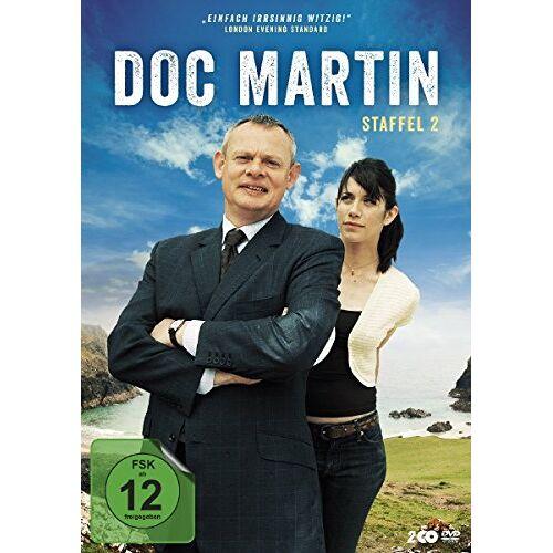 Martin Clunes - Doc Martin - Staffel 2 [2 DVDs] - Preis vom 18.04.2021 04:52:10 h
