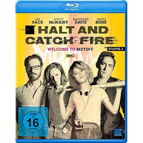 Toby Huss - Halt and Catch Fire - Staffel 2 [Blu-ray] - Preis vom 13.01.2021 05:57:33 h